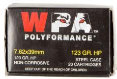 Wolf 7.62x39 123gr HP 20rd