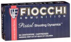 Fiocchi Pistol Shooting 9mm Full Metal