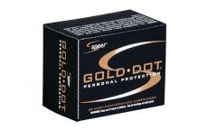 Spr Gold Dot 9mm+p 124gr Gdhp