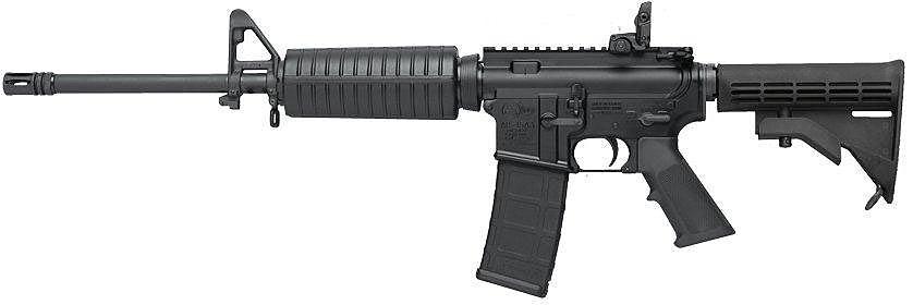 Colt AR15 - Voorbeeld van een standaard vuurwapen waar Airsoft Replica's van worden gemaakt.