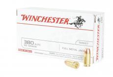 Winchester Ammo USA 380 ACP Full