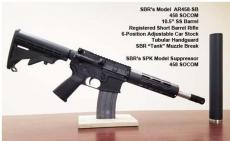 .458 Socom SBR and Suppressor Package