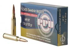 PPU Ppm6 Match 6.5x55 Swedish 120
