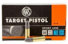RWS Target Pistol 22lr 50rd