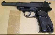"""Walther P1 9mm 5"""" 8rd x1"""
