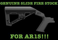 Slide Fire SBS RH Bump Fire
