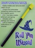 Roll Pin Wizard Bolt Catch