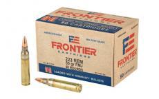Frontier 223rem 55gr Fmj 50/500