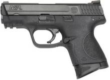 "Sw M&p-c 3.5"" 9mm Blk 12rd"