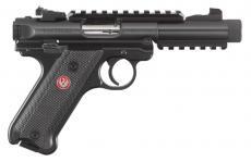 """Ruger Mkiv Tactical 22lr 4.4"""" Black"""