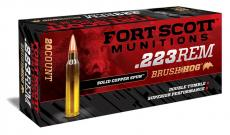 Fort Scott 55gr Brush hog .223
