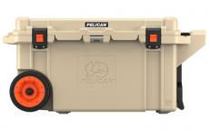 Pelican Cooler 80qt Wheeled Tan