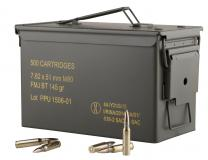 PPU Ppn762mc Mil-spec M80 Metal Can