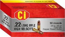 BBM 22lr 40gr High Velocity Cprn