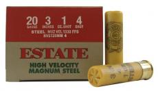Estate High Velocity Magnum Steel 20ga
