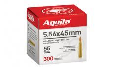Aguila 556nato 55gr Fmjbt 300/1200