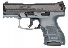 "HK Vp9sk 9mm 3.4"" Gray 10rd"