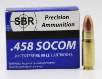 SBR Ammunition 458 Socom 350 Grain