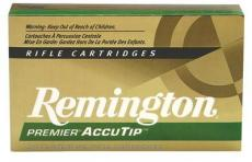 Remington Ammunition Premier 22-250 Rem Accutip