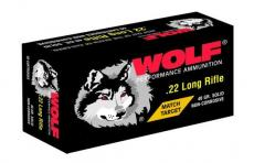 Wolf 22 Long Rifle Match Rimfire