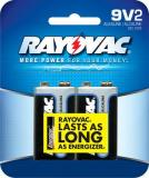 Rayovac A1604-2d Alkaline 9 Volt Batteries