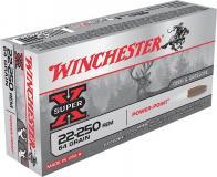 Winchester Ammo Super X 22-250 Remington