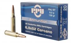 PPU Pp3006g Metric Rifle 6.5x52mm Carcano