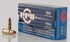 PPU Pph765p Handgun 7.65 Parabellum 93