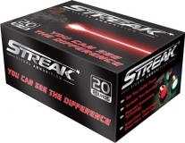 Ammo Inc 38125jhpstrk Streak Red 38