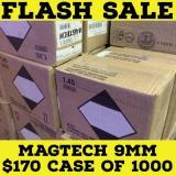 Magtech 9mm Case of 1000