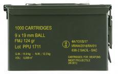 PPU Ppn9mc Mil-spec Metal Can 9mm