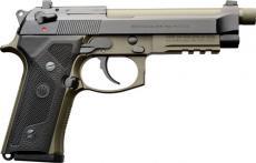 """Beretta M9a3 F 9mm 5"""" Blk/grn"""
