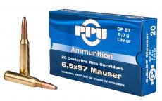 PPU Pp30063 Metric Rifle 6.5x57mm Mauser
