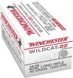 Winchester Ammo Wildcat 22 LR Lead
