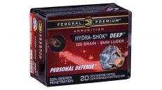 Federal Hydra-shok Deep 9mm 135gr Hp