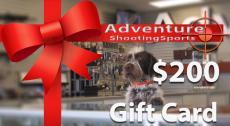 $200 Adventure Outdoor Gift Card