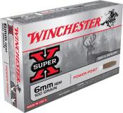 Winchester Ammo Super X 6mm Remington