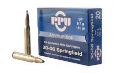 Ppu 30-06 150gr Sp