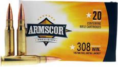 Armscor Ammo .308 Win 147gr