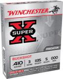 Win Xb413000 Super X Buckshot 410