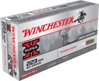 Winchester Ammo Super X 223 Rem/5.56