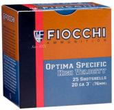 Fiocchi High Velocity Shotshells 20 ga